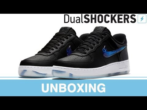 Buty Nike Air Force 1 PlayStation '18 QS, unboxing