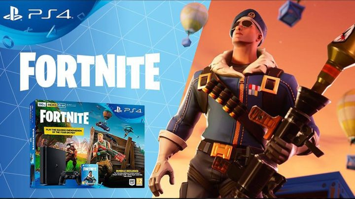 PS4 w bundle pack'u z Fortnite