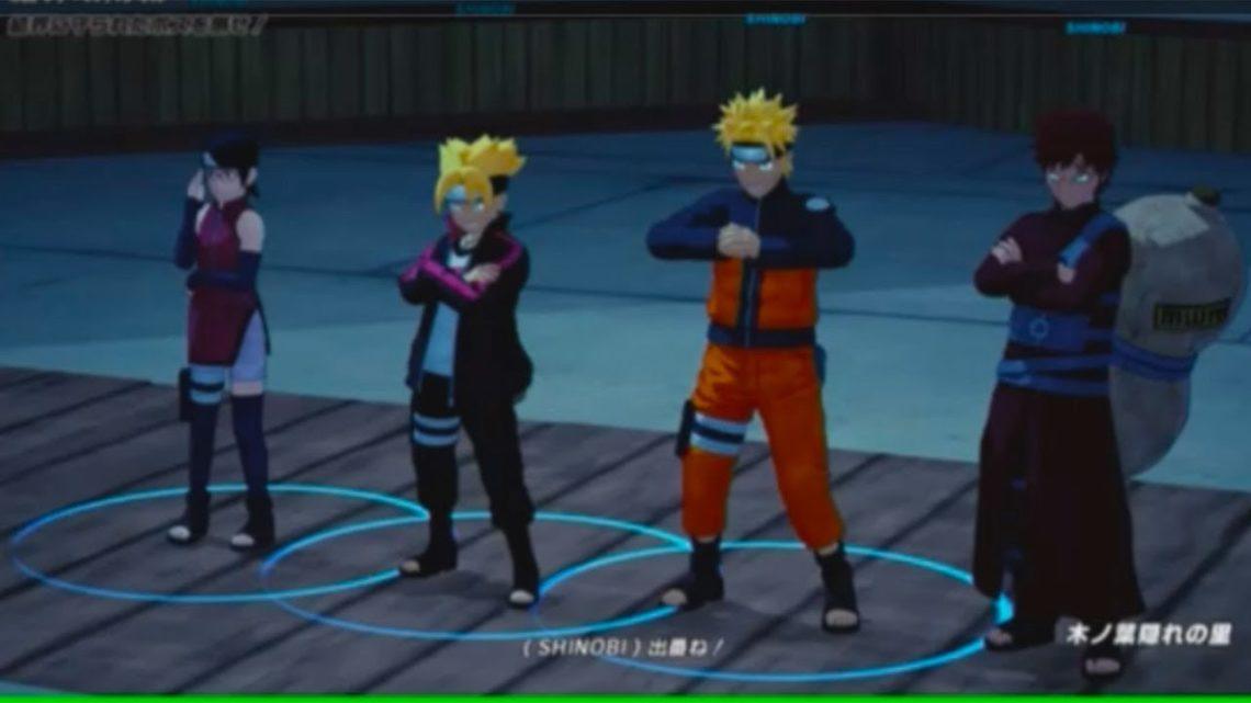 Nowy gameplay z Naruto to Boruto: Shinobi Striker