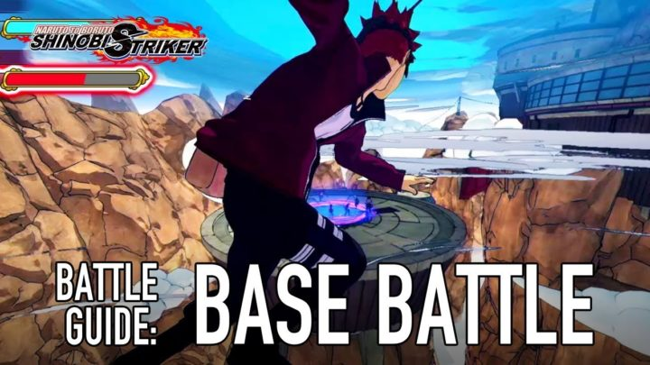 Tryb Base Battle w Naruto to Boruto: Shinobi Striker