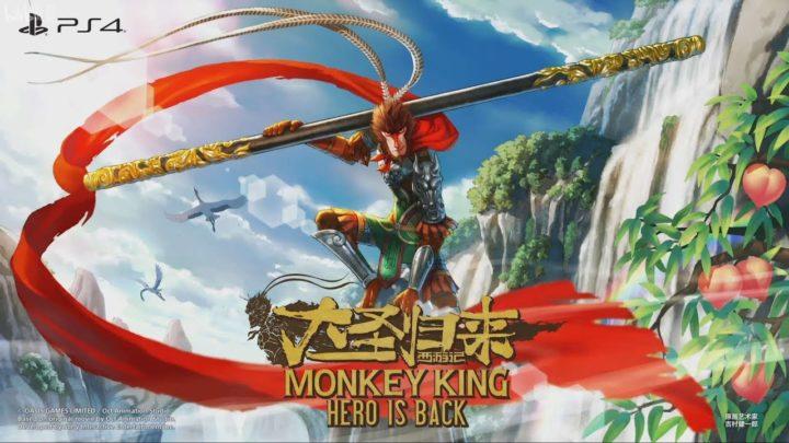 Małpi król zawita na PS4! Zwiastun Monkey King: Hero Is Back